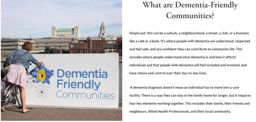 Dementia-Friendly communities