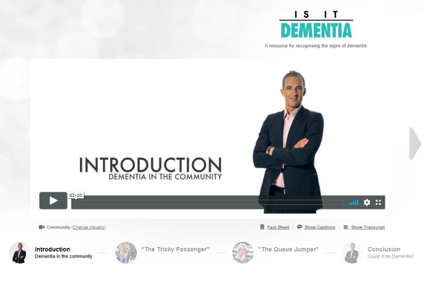 1. Introduction - Dementia in the community